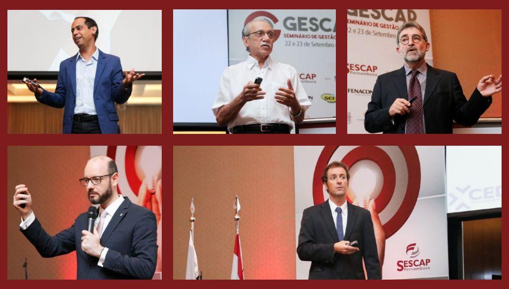 Gescap 1 Seminário de Gestão do SESCAP-PE foi sucesso
