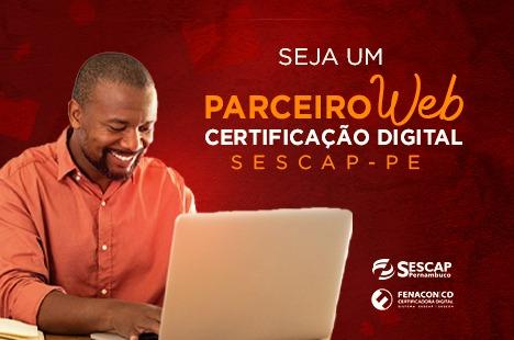 Parceiro Web - Certificação Digital Sescap-PE